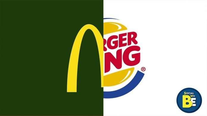 Mc Donald's contro Burger King