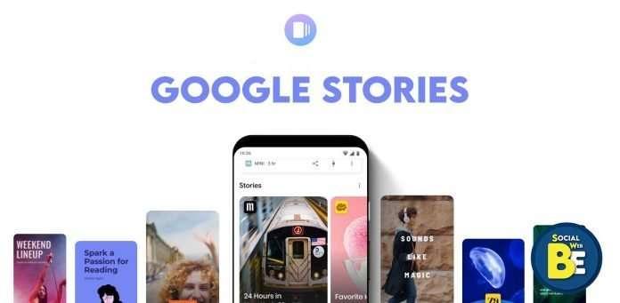 Google Stories SocialWebBe